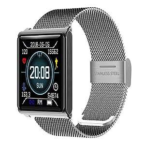 OOLIFENG Pulsera Fitness, Reloj Inteligente con Pulsómetros, IP67 ...