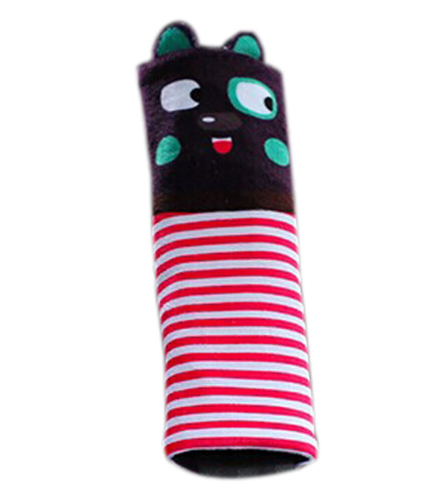 Safe Car Soft Seat Belt Strap Cover, Lovely Catoon Cat, Purple Panda Superstore