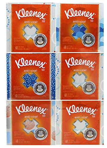 Kimberly-Clark Professional Kleenex Anti-Viral Facial Tissue Cube ( Pack of - Quilted Northern Cube