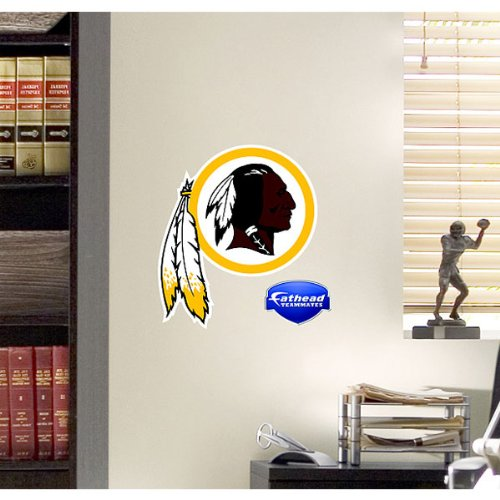 Washington Redskins NFL Logo Fathead Teamate