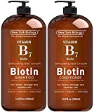 Biotin Shampoo and Conditioner Set for Hair