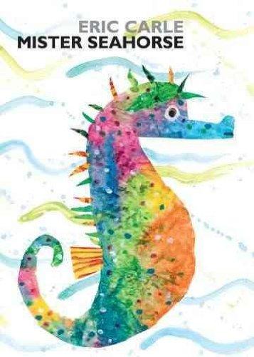 mister seahorse board book - 2