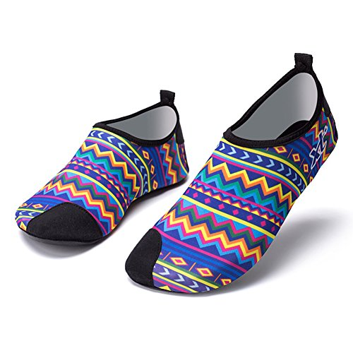 Unisex Water Shoes Barefoot Quick-Dry Beach Shoes Aqua Socks Yoga Shoes for Men and Women from MCERMR