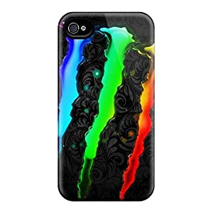 Tpu Shockproof/dirt-proof Monster Cover Case For Iphone(4/4s)