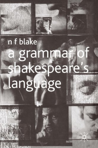 A Grammar of Shakespeare's Language by Palgrave