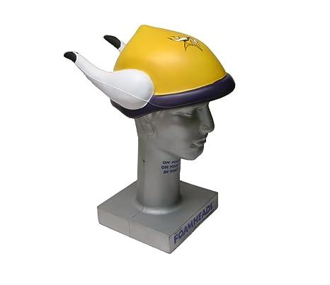 c55a930aedd Amazon.com   NFL Minnesota Vikings Foamhead   Sports Related Hard Hats    Sports   Outdoors