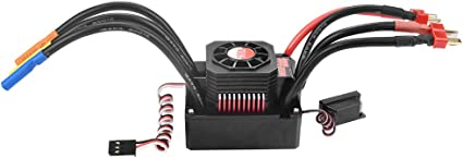 Waterproof RC Car Electronic Speed Controller for 1//8 RC Car 2S-6S LiPo 150A Brushless ESC