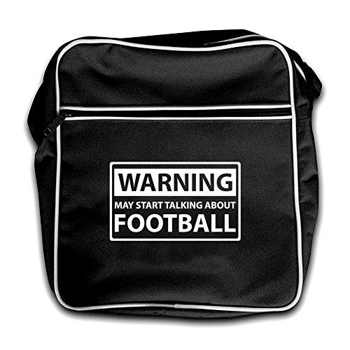 Black Bag Football Start Retro Black Flight Talking May About Warning wqOR8