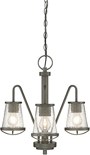 Designers Fountain 87083-WI Darby 3 Light Chandelier