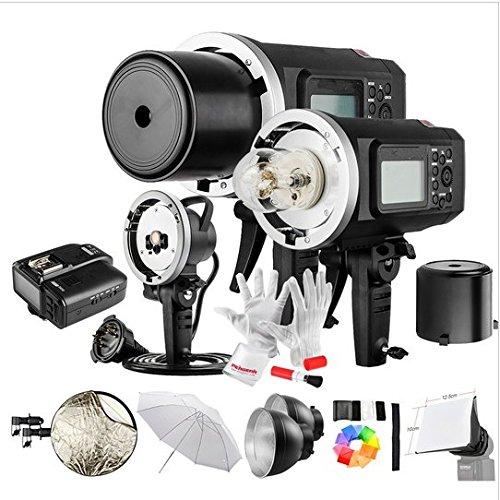- GOWE 600W GN87 1/8000 HSS Outdoor Flash Strobe Monolight with X1C Wireless Flash Trigger 8700mAh Battery Portable Head
