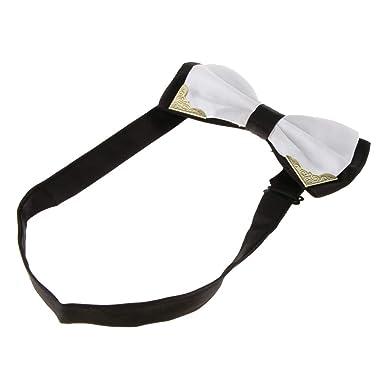 Sharplace Corbata de Lazo Bowtie para Caballero Multicolores ...