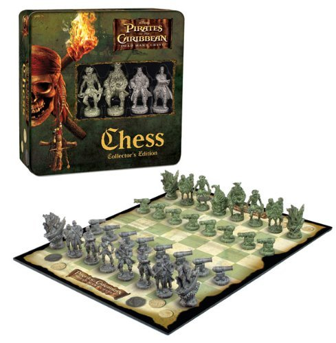 Pirates of the Caribbean Dead Man's Chest Chess: Collectors Edition - Usaopoly Collectors Toy