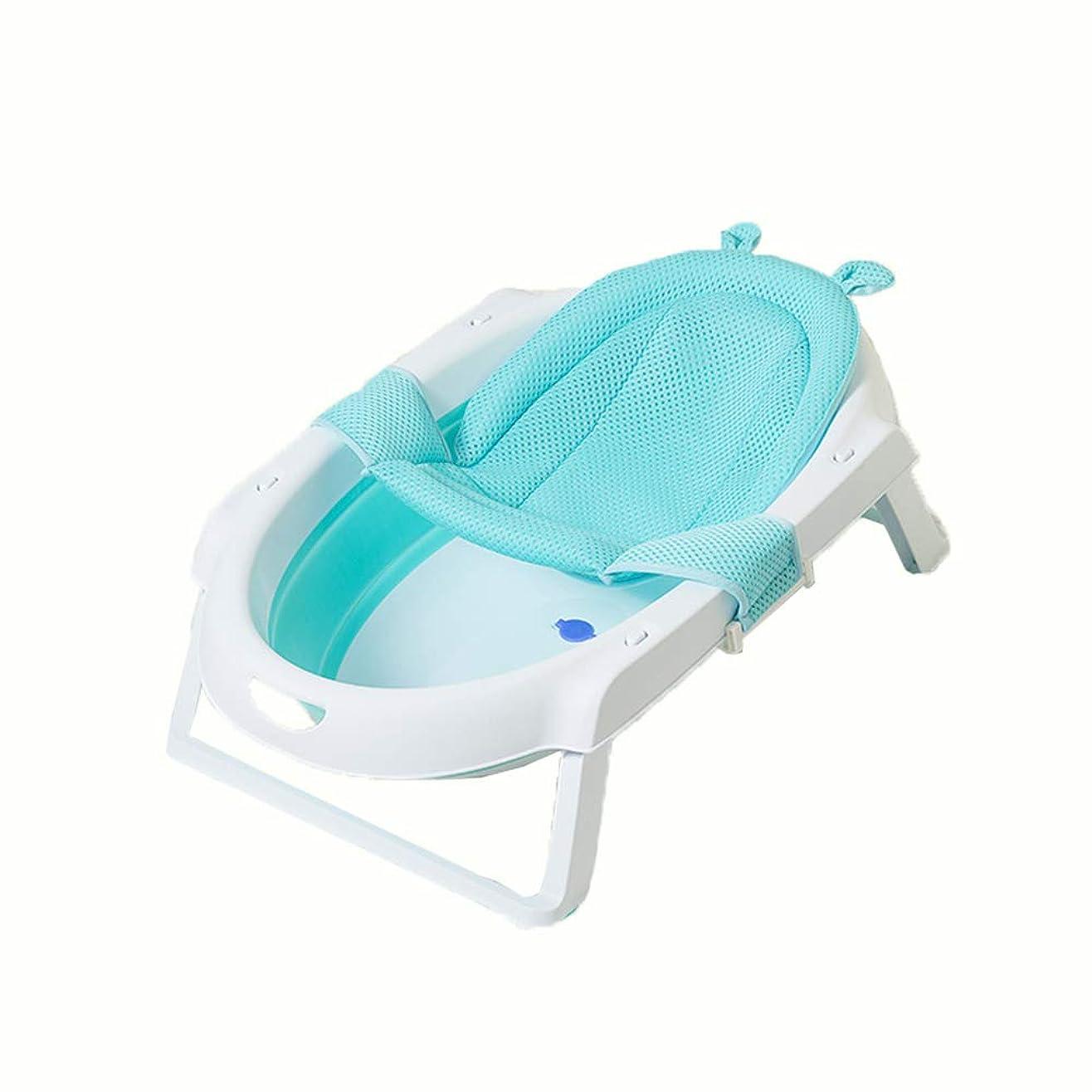 オープナーに賛成パリティNoloo ベビーバスマット クマの形 新生児 シャワー 可愛い 柔らかい 滑り止め 赤ちゃんのお風呂 0~2歳 (Blue)