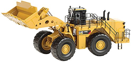 Cat 993K Wheel Loader (1:50 Scale), Caterpillar Yellow by Cat