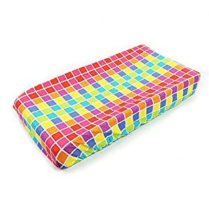 One Grace Place Terrific Tie Dye Changing Pad Cover Squares