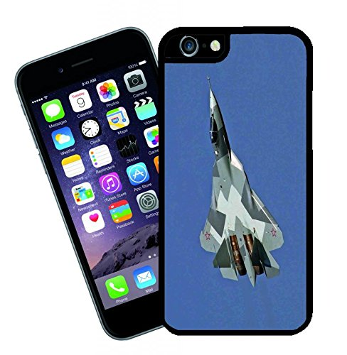 Aviation PAK FA T-50 fighter - This cover will fit Apple model iPhone 7 (not 7 plus) - By Eclipse Gift Ideas