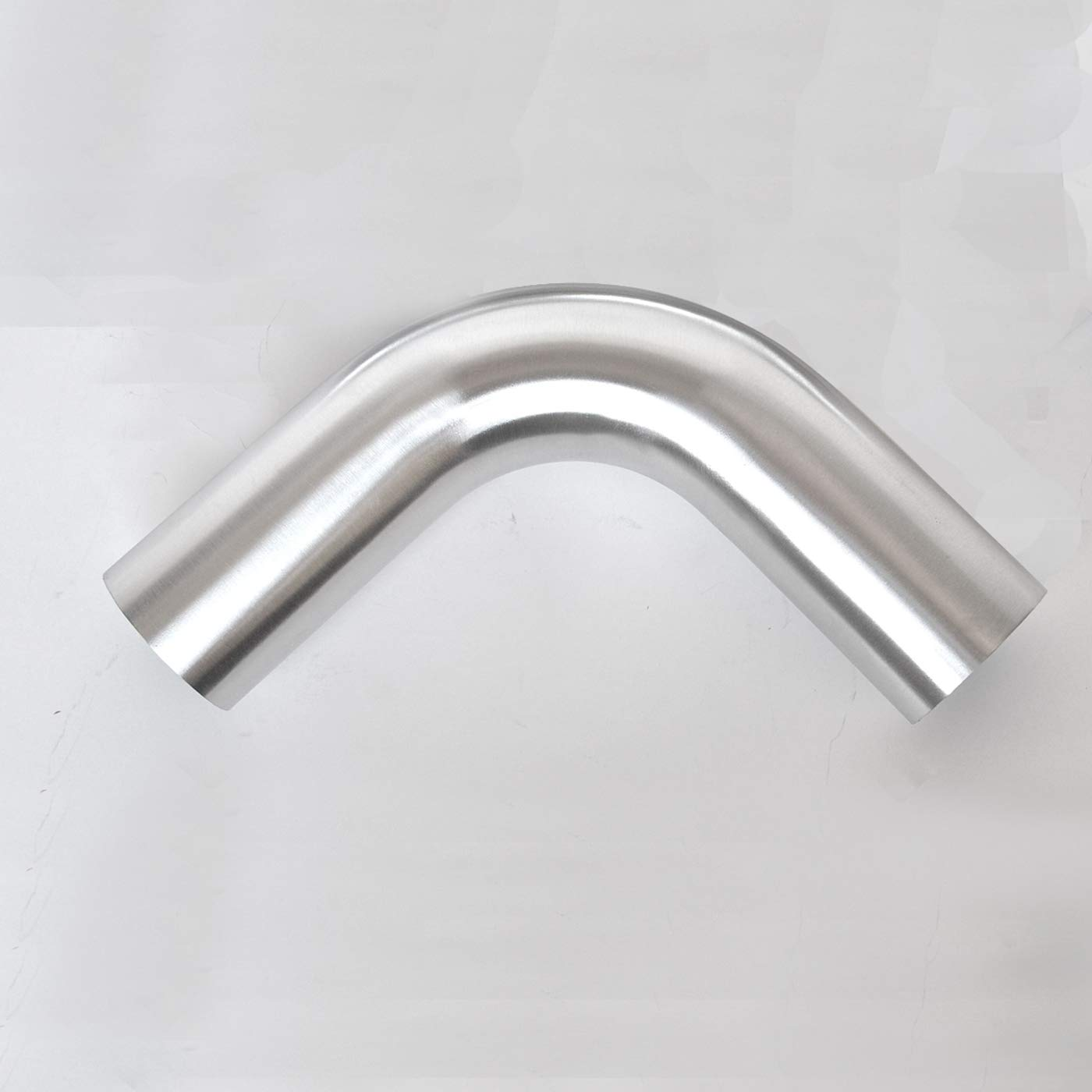 45 Degree Bend Elbow 2 Inch 6061 Aluminum Pipe Tube Intercooler Pipe High Class Brushed Treatment Tight Radius Air Intake Tube OD 2 51mm 100mm Leg Length 4