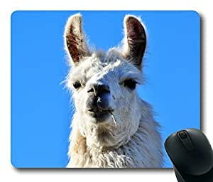 Rectangle mouse pad Diy Design Llama Interesting