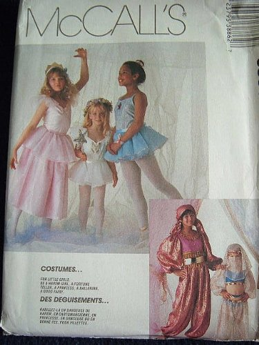 Ballerina Costumes Pattern - GIRLS COSTUMES SIZE 6-8 FOR LITTLE