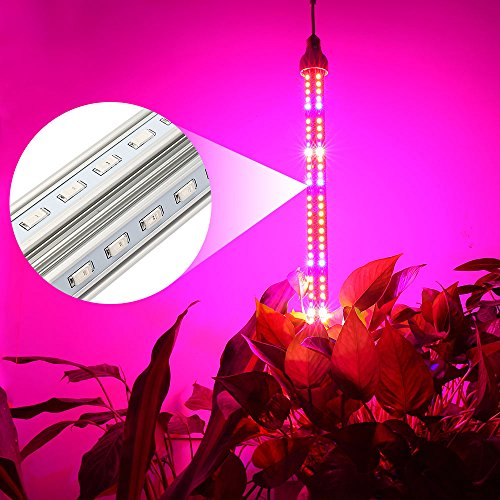 Derlights 150W Full Specreum Led Plant Grow Light Bar with UV & IR, 360 degree lighting, 200pcs SMD5730, AC 85~265V, for Indoor Gardening Hydroponics System Greenhouse Flowering Plant Lighting (150W) For Sale