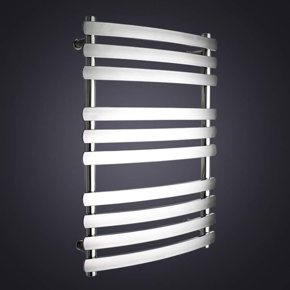 Songkai88 Calentador de Toallas, Calentador de Ropa eléctrica de Acero Inoxidable tendedero Ropa secador de Toallas de Aislamiento seco Carril Calefactor ...