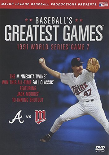 1991 World Series Game - Baseball's Greatest Games: 1991 World Series Game 7