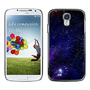 Stuss Case / Funda Carcasa protectora - Purple Illumination Starry Flames - Samsung Galaxy S4