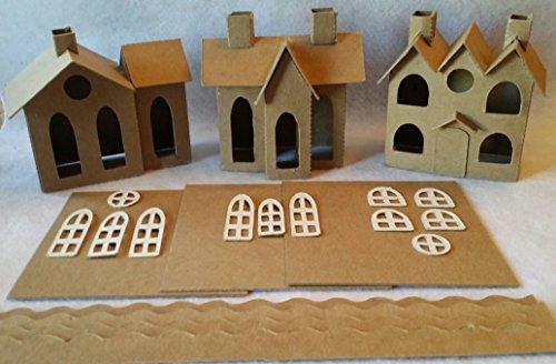 vintage putz houses - 5