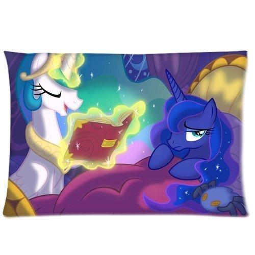 Sngzc My Little Pony Princess Luna and Celestia Pillowcases ...