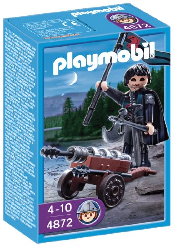Playmobil 4872 Robber Knight with Cannon