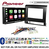 Volunteer Audio Pioneer AVH-W4400NEX Double Din Radio Install Kit with Wireless Apple CarPlay, Android Auto, Bluetooth Fits 2012-2015 Non Amplified Toyota Tacoma