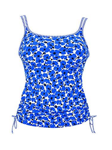Anita Care Blue Lagoon Mastectomy Tankini Top in B cup 6584-354 B cup