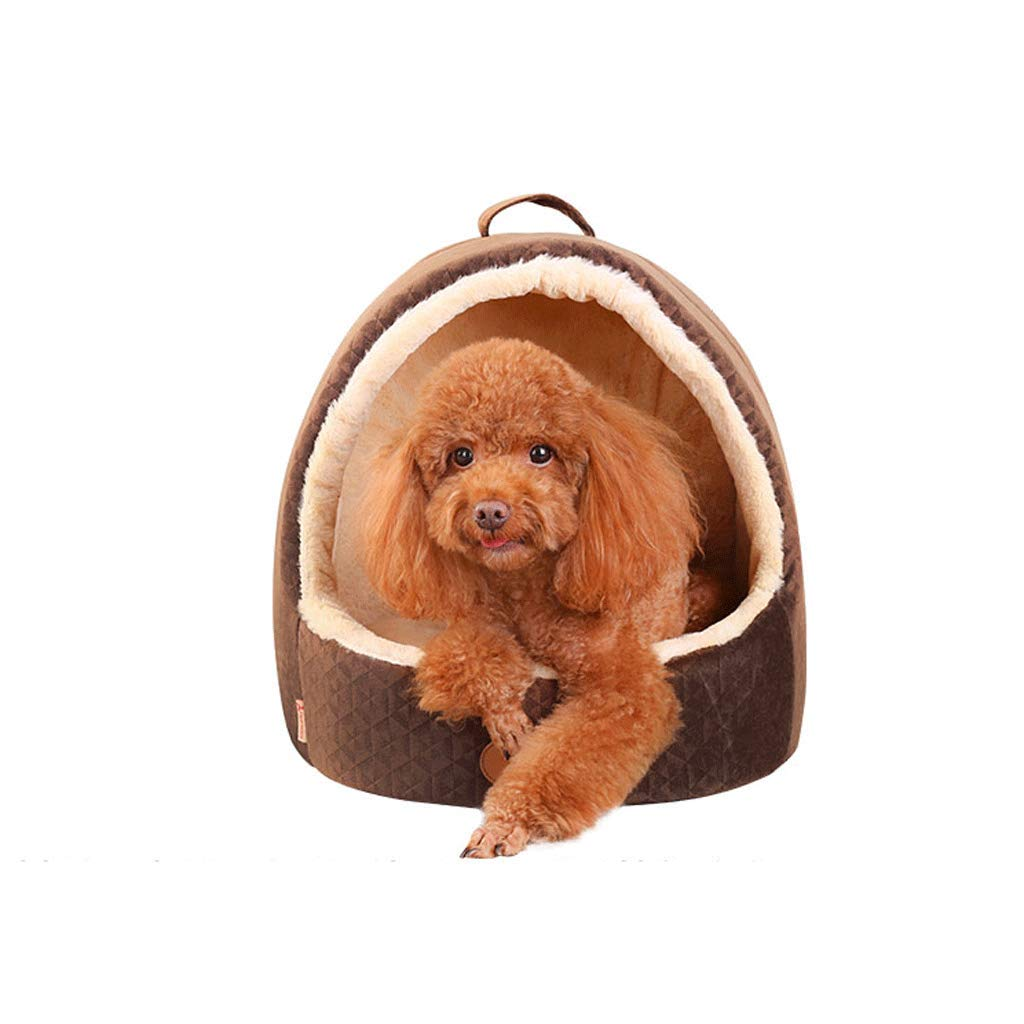 A S A S Pet Bed Non-stick Hair Removable And Washable Warm Pet Mattress Bite And Dirt Resistant (color   A, Size   S)