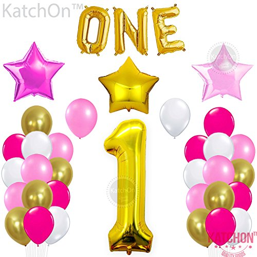 Hear Technologies Mix (KATCHON 1st Birthday Party Balloon Decoration Kit with Party Planner)