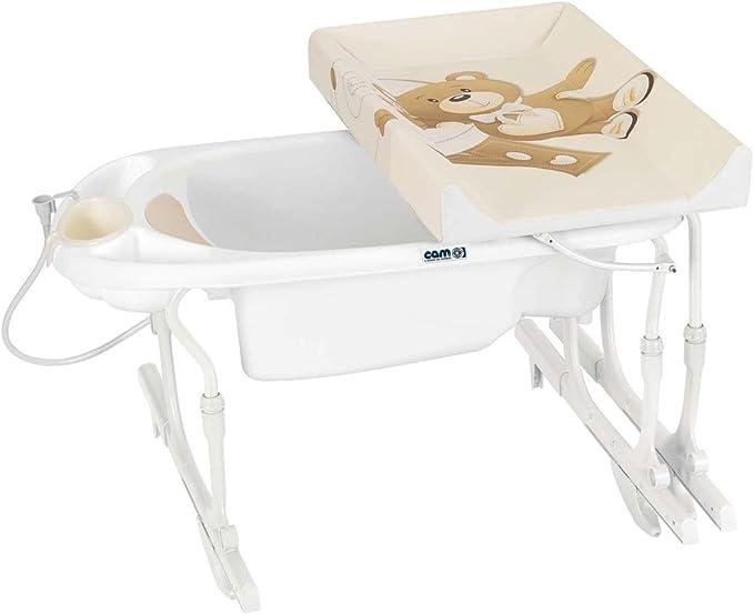 Cam C518/219 Multicolor bañera para bebés - Bañeras para bebés (Multicolor, 15 kg, 780 mm, 675 mm, 8,2 kg, 1 pieza(s)): Amazon.es: Bebé