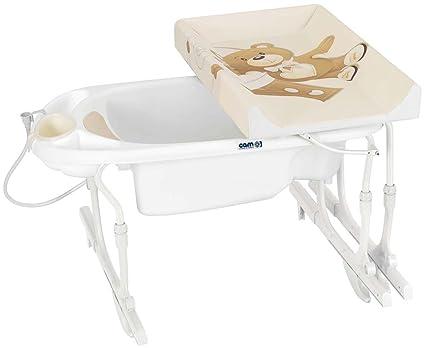 Fasciatoio Brevi Per Vasca Da Bagno Prezzi : Cam il mondo del bambino c518 219 bagnetto idro baby estraibile