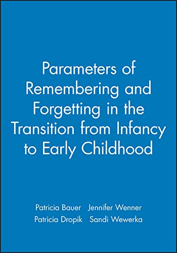 Parameters of Remembering and Forgetting in the Transition from Infancy to Early Childhood (Monographs of the Society for Research in Child Development)