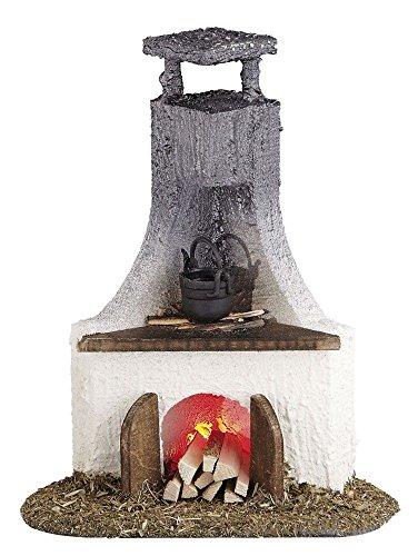 Rulke Rulke040648 Fireplace, 13 x 11 x 7.5 mm, Multi Color ()