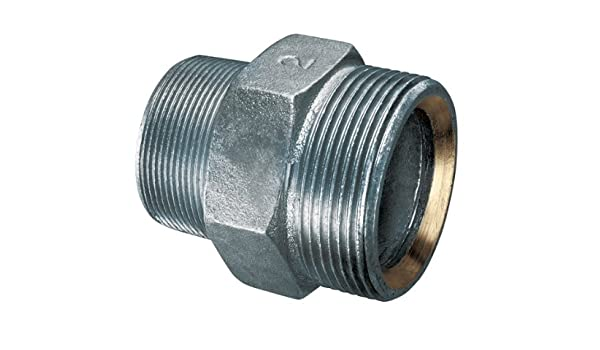 250 PSI Kuriyama GMS-050 Ground Joint Spud with Copper Seat 1//2 NPT Male x 1//2 NPS Male