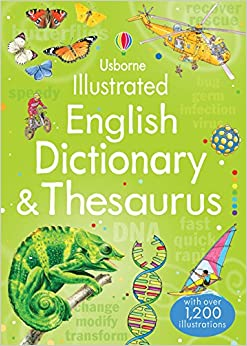 Book Illustrated English Dictionary & Thesaurus