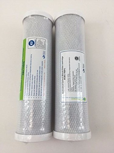 2 PK Fits GE FX12P FX12M Smart Water RO Compatible Pre & Post Filter Cartridge by Ca Ware