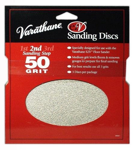 Rust-Oleum 203937 Varathane EZV 60 Grit Sanding - Ezv Sanding Discs