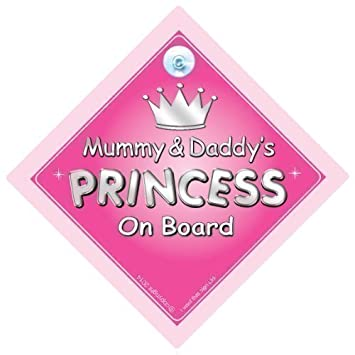 Amazon.com: Baby iwantthatsignltd Mummy & Daddy s Princess ...
