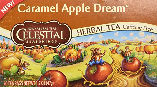 - Celestial Seasonings Tea Caramel Apple Dream 20 bags