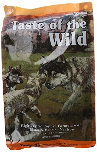 Taste-of-the-Wild-Grain-Free-High-Prairie-Dry-Dog-Food-for-Puppy-15-Pound-Bag