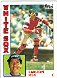 1984 Topps Chicago White Sox Team Set with Harold Baines & Carlton Fisk - 30 MLB Cards