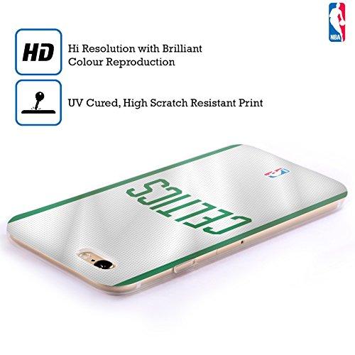 Officiel NBA Jersey Boston Celtics Étui Coque en Gel molle pour Apple iPhone 6 Plus / 6s Plus