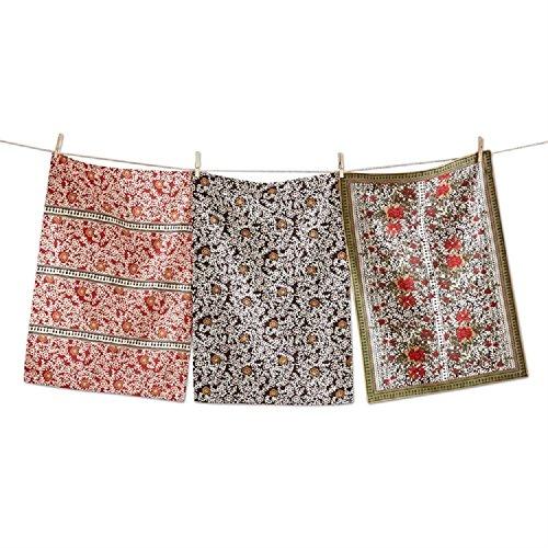 3 Piece Cotton Imari Dishcloth ()
