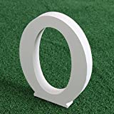 """Norbi Wooden Alphabet Letters Hanging Wall 26 Letters Wedding Brithday Party Children Education Nursery Home Decoration (A) 8cm/3.15""""(O)"""
