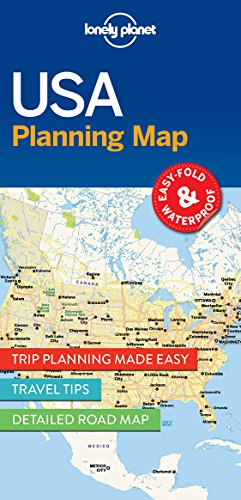Planning Map - Lonely Planet USA Planning Map